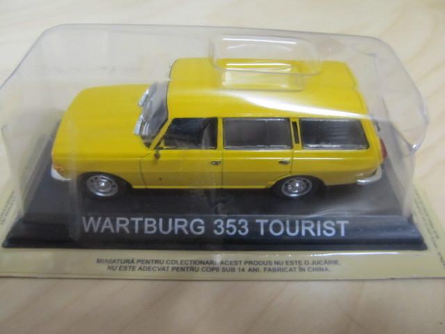 wartburg 353 tourist modell 1 43 metall. Black Bedroom Furniture Sets. Home Design Ideas